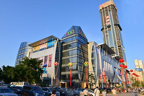 首个购物中心惊艳龙城 柳州步步高广场盛大开业