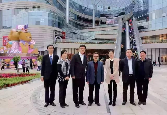 贺修铭副厅长、吴小月副市长一行考察步步高物流创新工作