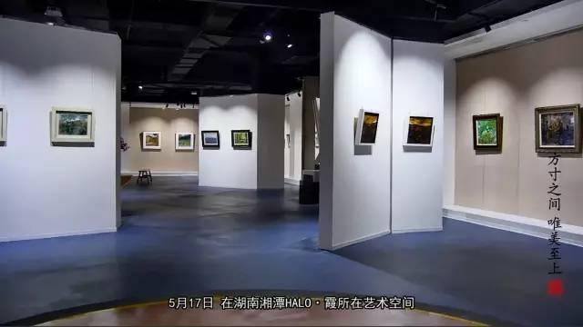 唯美至上——2016湖南小幅油画精品邀请展惊艳亮相湘潭HALO.霞所在